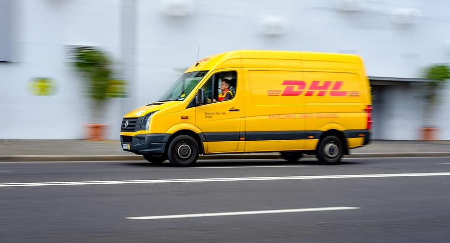 DHL CO2 neytral
